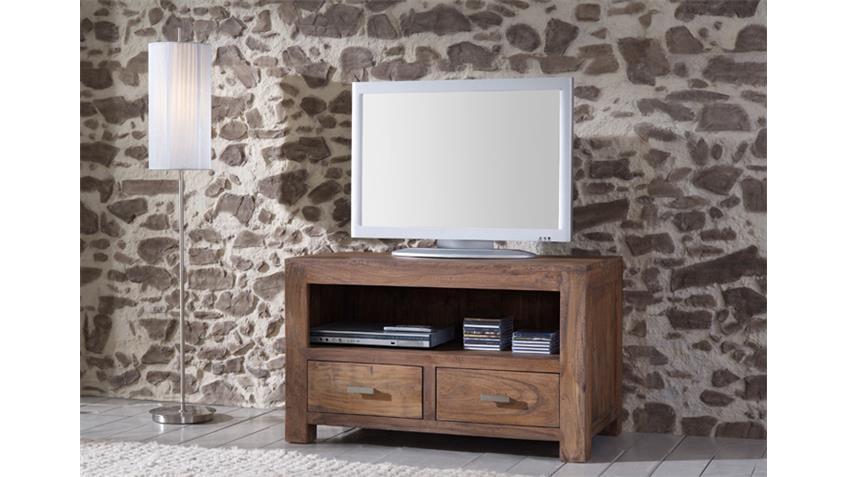 TV Board Longboard GURU 6646 Akazie massiv von Wolf Möbel
