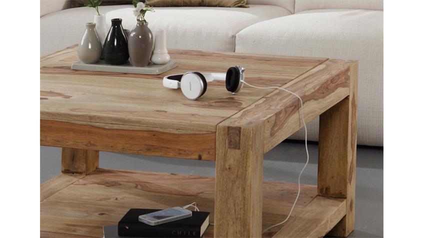 couchtisch 80x80 cm yoga sheesham massiv von wolf m bel. Black Bedroom Furniture Sets. Home Design Ideas