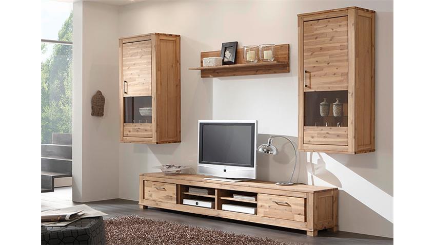 canaria h ngevitrine akazie massiv sand. Black Bedroom Furniture Sets. Home Design Ideas