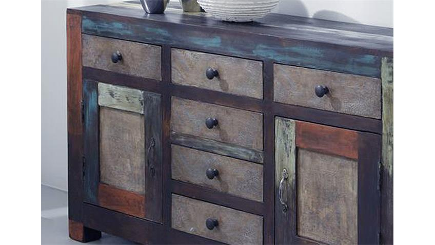 sideboard goa 3501 von wolf m bel in massivholz mango. Black Bedroom Furniture Sets. Home Design Ideas