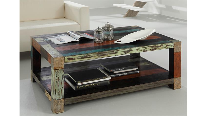 Couchtisch GOA von Wolf Möbel in Massivholz Mango 120x80