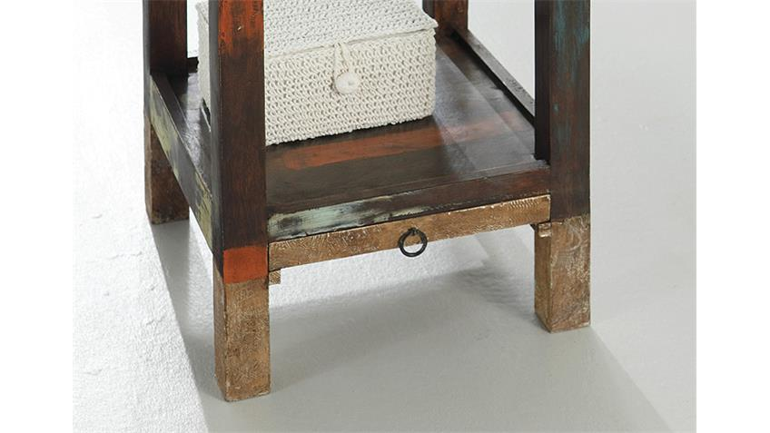 Telefontisch GOA von Wolf Möbel in Massivholz Mango