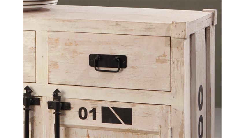 Kommode 6902 CONTAINER von Wolf Möbel in Antik weiß