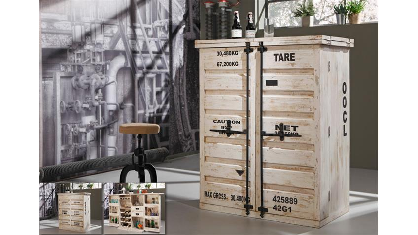 Excellent Best Bar Kommode Container In Antik Wei Von Wolf Mbel With Wohnwand  Antik Wei With Mbel Antik Wei