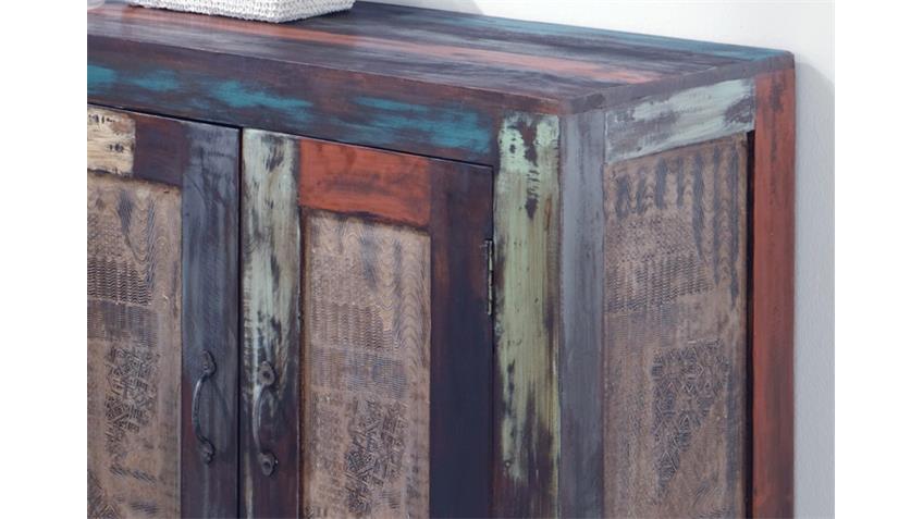 Kommode Sideboard GOA von Wolf Möbel in Massivholz Mango