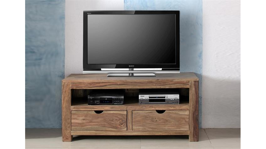 tv kommode yoga sheesham natur massiv von wolf m bel. Black Bedroom Furniture Sets. Home Design Ideas