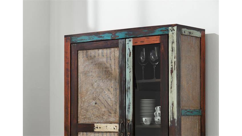 Vitrine GOA 3511 von Wolf Möbel in Massivholz Mango