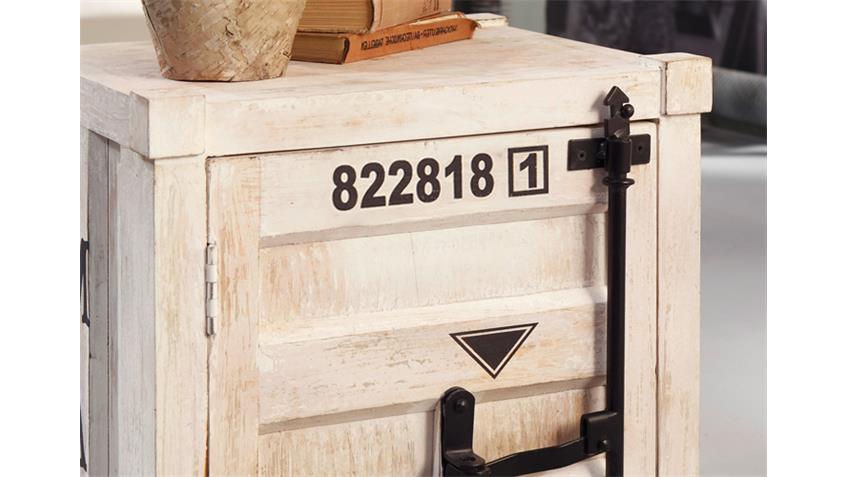 Kommode 6921 CONTAINER von Wolf Möbel in Antik weiß