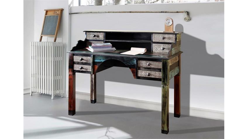 sekret r goa von wolf m bel mit 8 schubk sten in massivholz. Black Bedroom Furniture Sets. Home Design Ideas