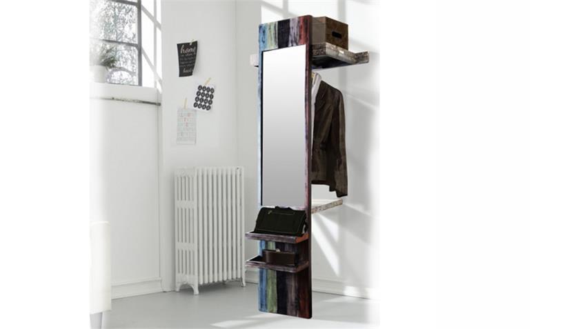 garderobe goa mit spiegel von wolf m bel in massivholz mango. Black Bedroom Furniture Sets. Home Design Ideas