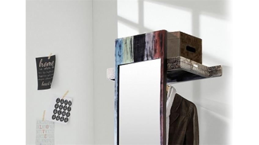 Garderobe GOA mit Spiegel von Wolf Möbel in Massivholz Mango