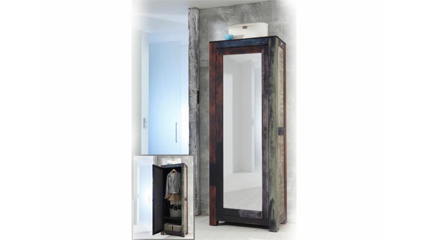 Garderobenschrank GOA mit Spiegel Schrank von Wolf Möbel