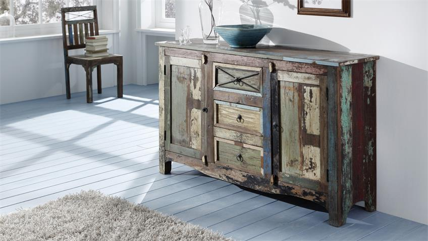 Sideboard Himalaya 3706 old recycled wood von Wolf Möbel
