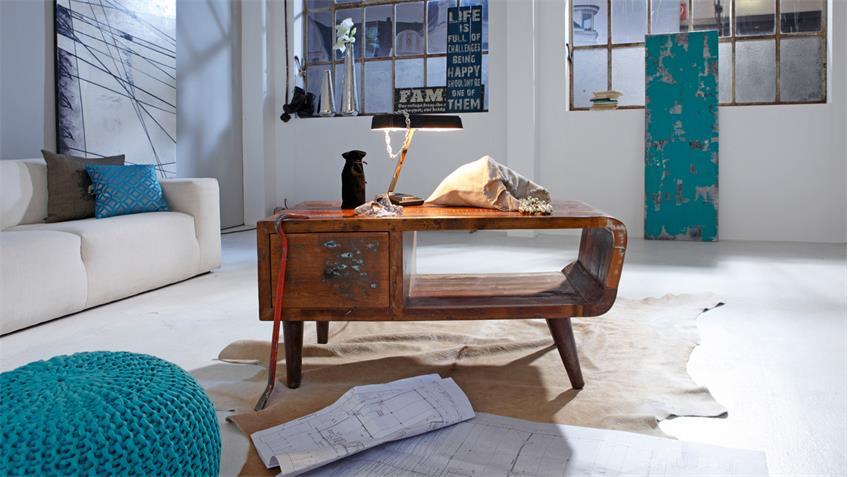 Couchtisch Himalaya 3746 old recycled wood von Wolf Möbel