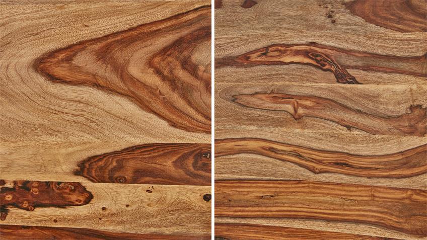 Couchtisch 120x70 SHAN 6325 Massivholz von Wolf Möbel