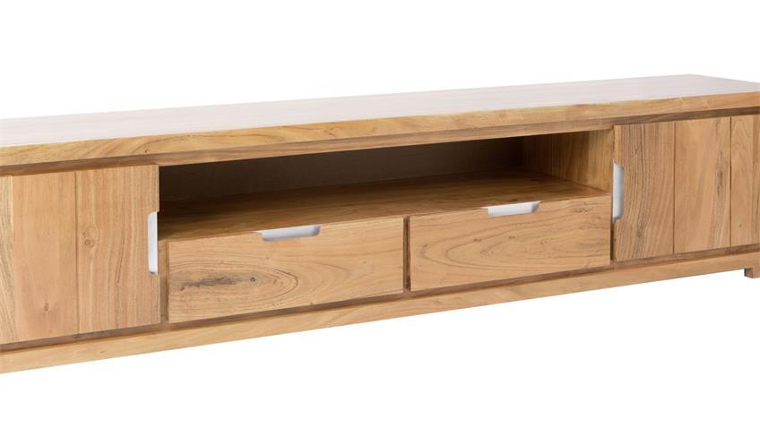 TV-Board VISION 2823 von Wolf Möbel aus Akazienholz massiv