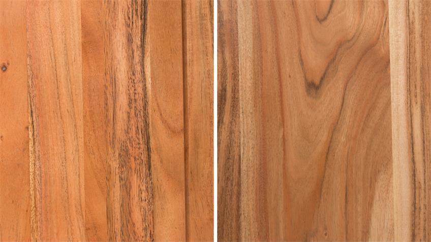 Esstisch VISION 2827 aus massiven Akazienholz in Acana