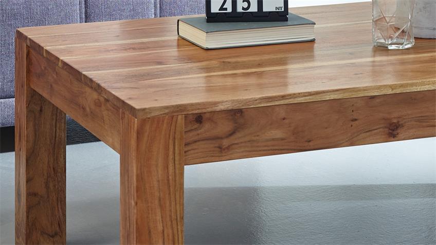 Couchtisch VISION 2839 Wolf Möbel 117x75 cm Akazie massiv