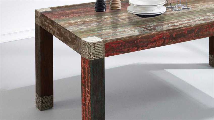 Esstisch 160x100 GOA RED 3515-HI Massivholz von Wolf Möbel