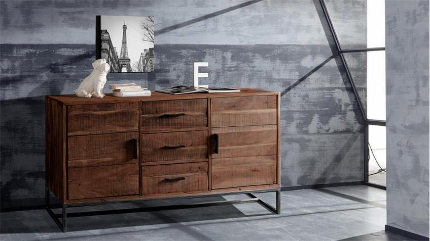 sideboard puerto 4692 kommode in akazie massiv forest von wolf m bel. Black Bedroom Furniture Sets. Home Design Ideas