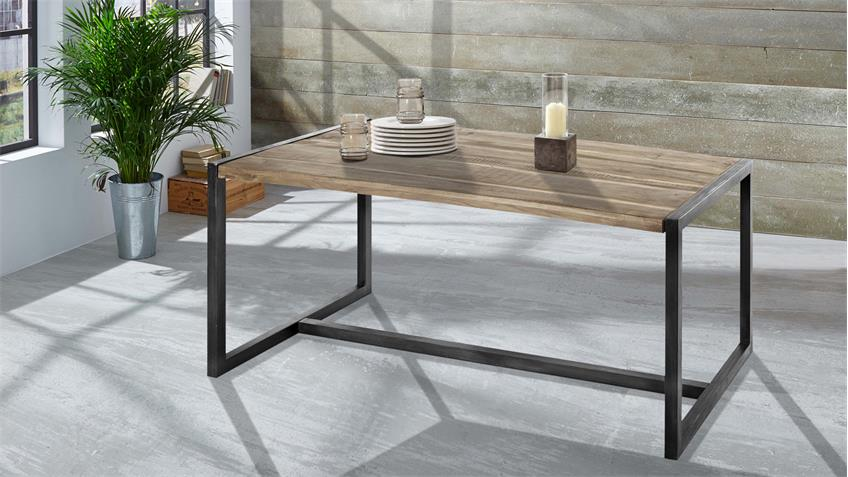 Tisch PUERTO 4676 Esstisch Akazie massiv Hela von Wolf Möbel 185x90 cm