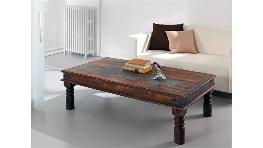 Couchtisch HIMALAYA Altholz 3741 Tisch old recycled wood Wolf Möbel