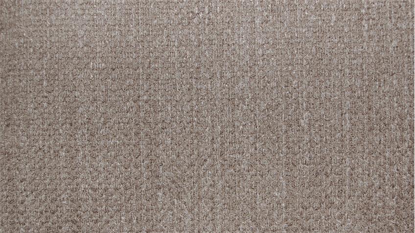 Ecksofa OXFORT Bezug Stoff mandel braun inkl. Nosagfederung 276x246 cm