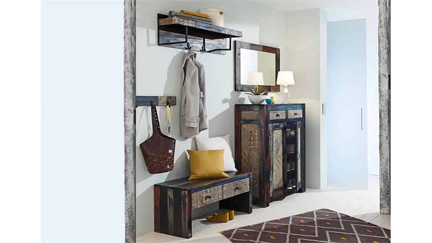 Garderobe GOA mit Hutablage von Wolf Möbel Massivholz Mango