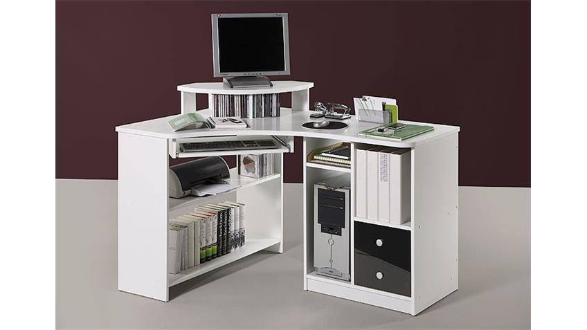 Schreibtisch Tanga Ecktisch für Computer in Eiche Sonoma
