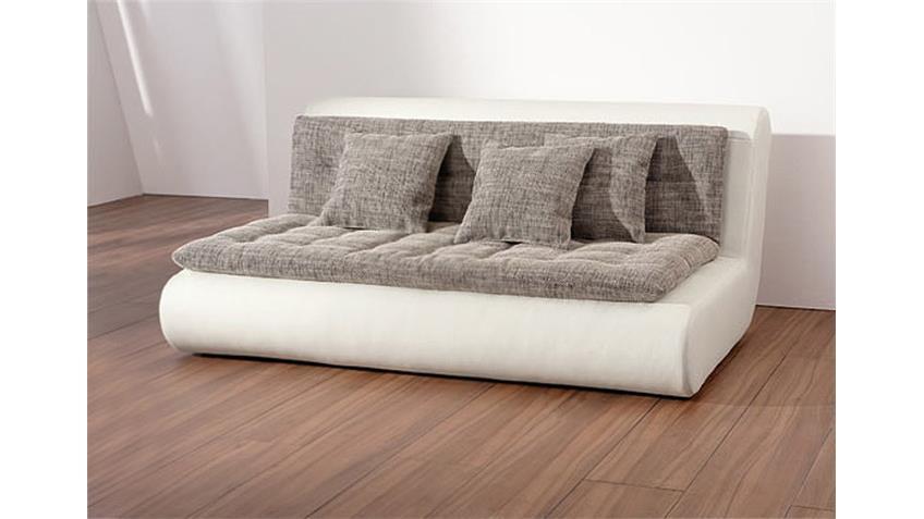 Sofa V CLUB Polstermöbel in weiß Element Rechts inkl Kissen