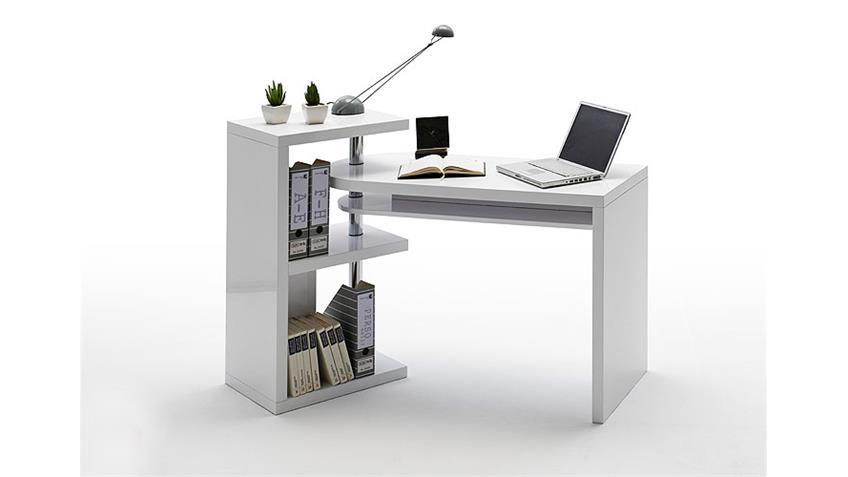 Schreibtisch MATT Computertisch in Sonoma Eiche sägerau