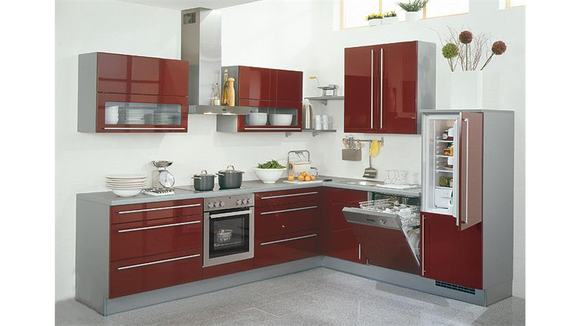 Nobilia Einbauküche, L-Küche inkl. Geschirrspüler - 871