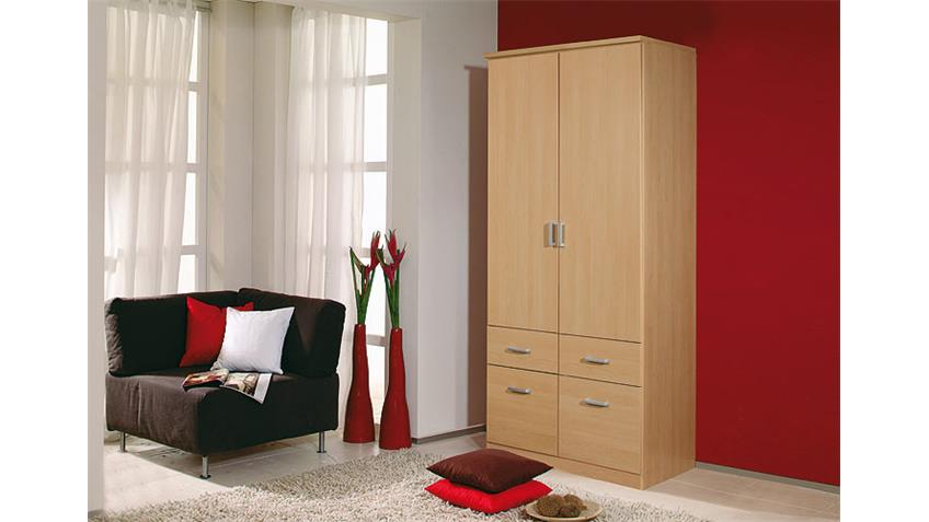 kleiderschrank bremen w scheschrank in buche hell 91 cm. Black Bedroom Furniture Sets. Home Design Ideas