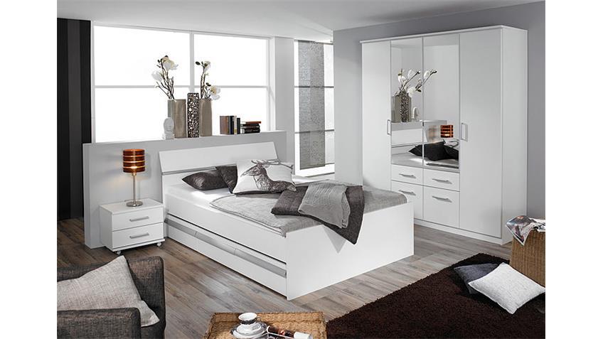 Schlafzimmerset II APULIEN mit mega Stauraum in alpinweiß