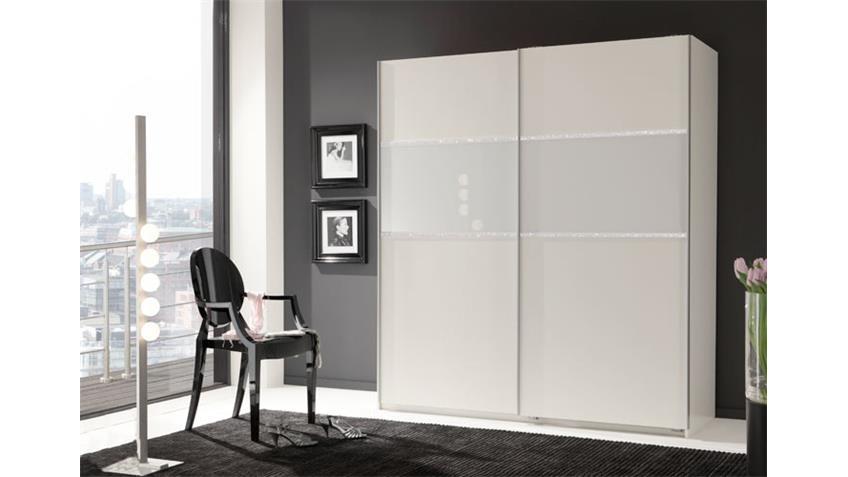 schwebet renschrank buzz in wei mit strass dekor 135. Black Bedroom Furniture Sets. Home Design Ideas