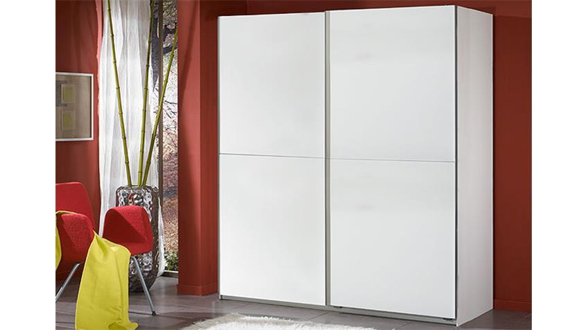 Schwebetürenschrank HOT Schrank in Weiß Breite 180 cm