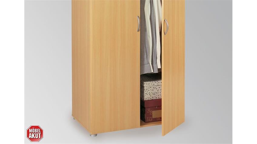 Kleiderschrank ZAPO Schrank in Buche Natur 81x168x51,7 cm