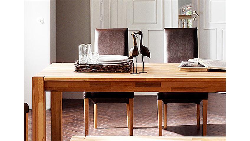 Esstisch NESTA Tisch in Kernbuche massiv Breite 140 cm