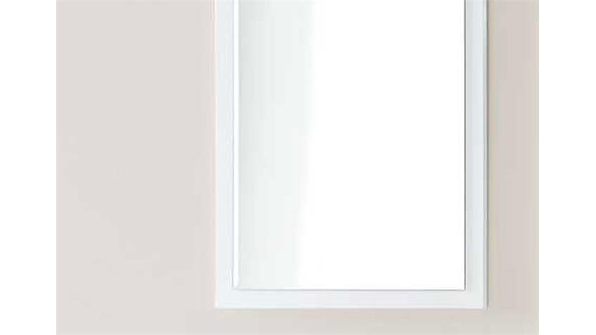 Wandspiegel SYDNEY Spiegel in weiß hochglanz lackiert