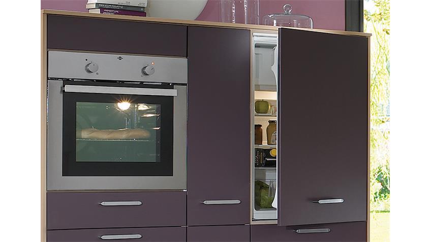 Nobilia Einbauküche, Küchenzeile inkl. Geschirrspüler - 999