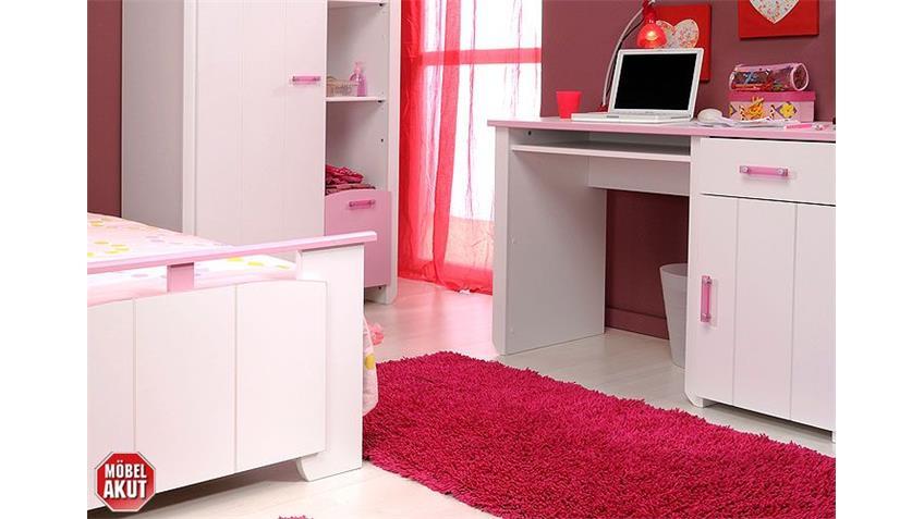 Kinderzimmerset BEAUTY VI Kinderzimmer in weiß und rosa