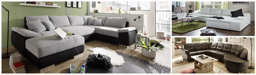 Wohnlandschaften bei Maximal Möbel