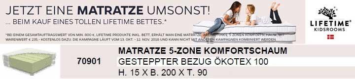 Lifetime Matratzen-Aktion bei Möbel AKUT GmbH