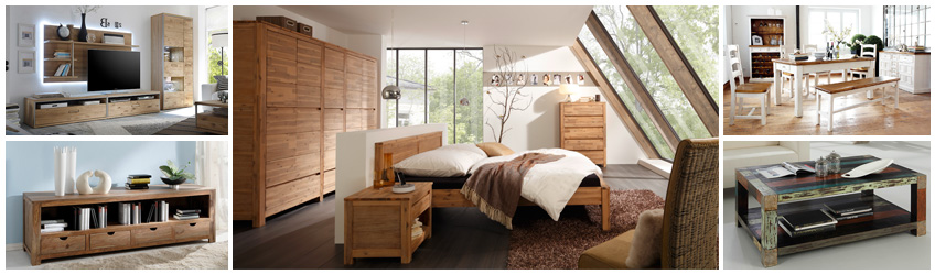 massivholzm bel g nstig online kaufen moebel. Black Bedroom Furniture Sets. Home Design Ideas