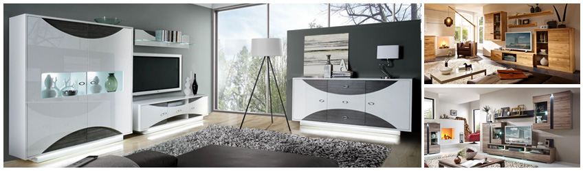 wohnwand in top qualit t finden auf moebel. Black Bedroom Furniture Sets. Home Design Ideas