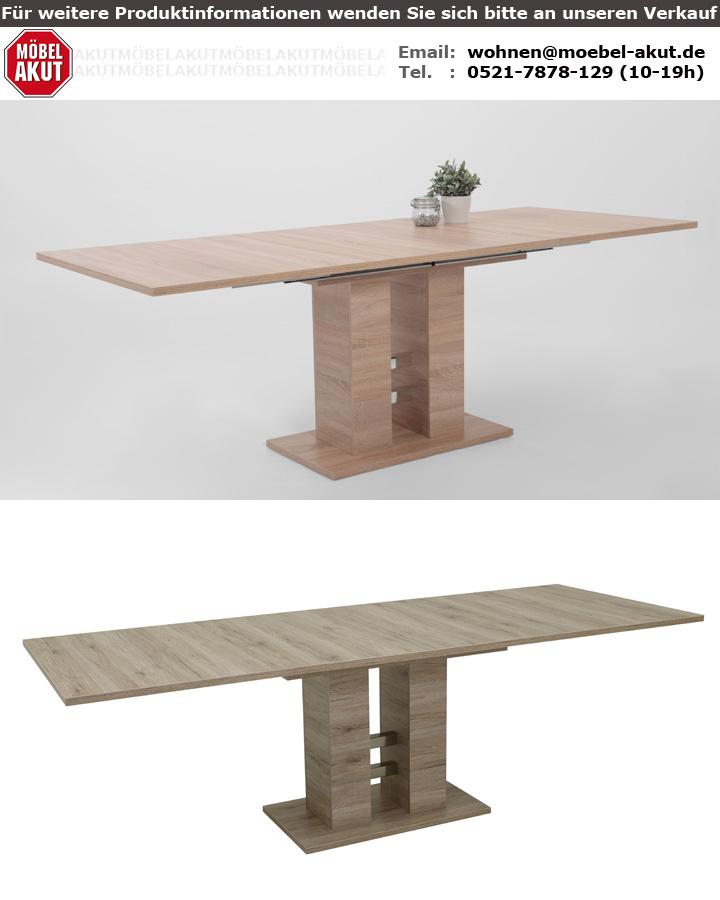 Küchentisch Sonoma Eiche: Esstisch HELENA 2 Tisch Küchentisch Esszimmertisch In