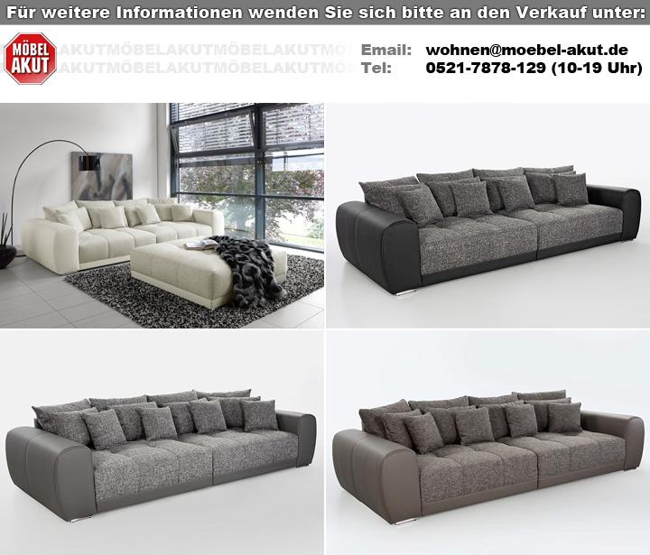 Big Sofa Sam Polstermobel Xxl Sofa In Elefant Schlamm 310