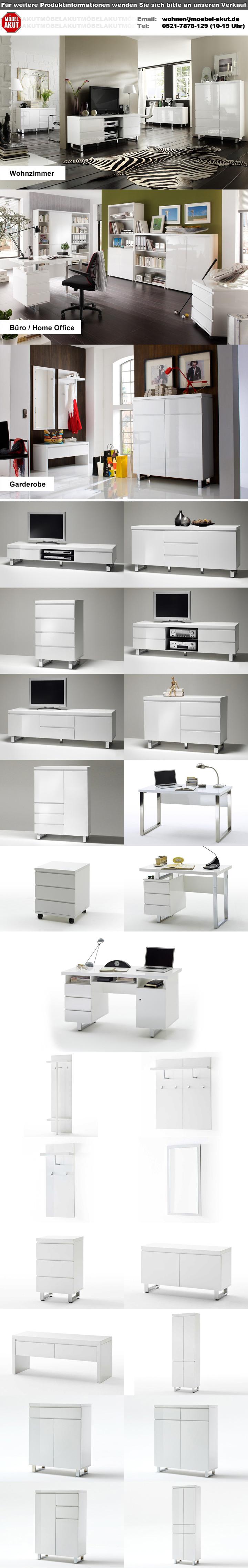 schreibtisch sydney b rotisch in wei hochglanz lackiert 140x70 cm. Black Bedroom Furniture Sets. Home Design Ideas