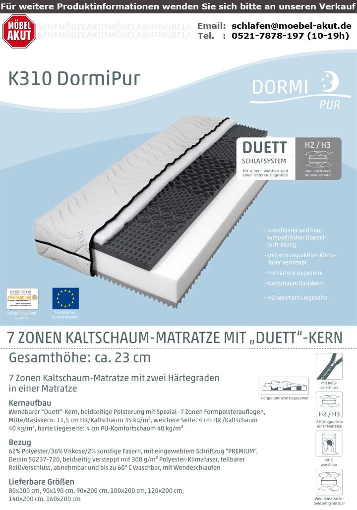 DORMIPUR K310