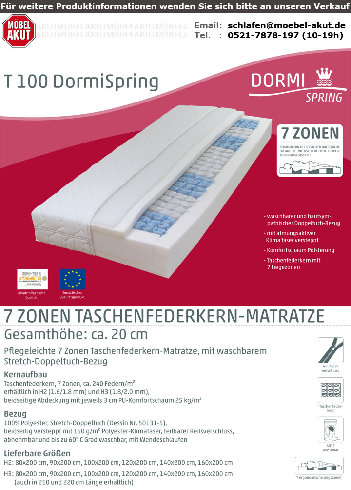 DORMISPRING T100
